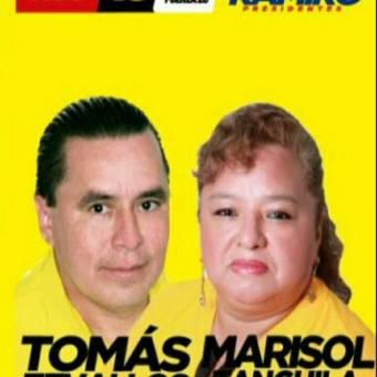 Tomas Zevallos y Marisol Tanguila