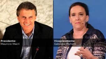 Mauricio Macri - Gabriela Michetti (PRO)