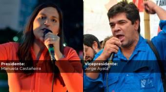 Manuela Castañeira - Jorge Ayala (Más Movimiento al Socialismo)