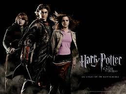 Harry, Ron y Hermione.