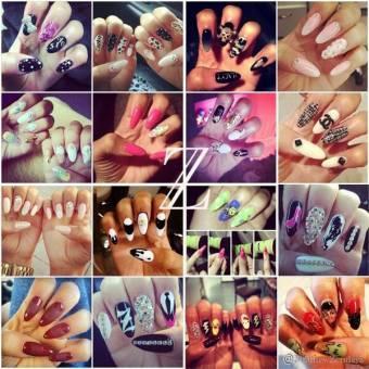 Sus uñas són las mejores, me encantan! *.*