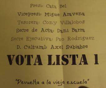 VOTA LISTA 1