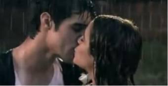 Beso con Tomás:D