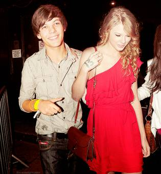 taylor swift y louis tomilson