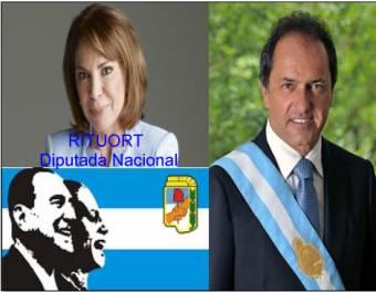 Olga Rituort (Bloque Eva Duarte - Partido Justicialista Disidente de Scioli)