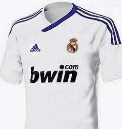 camiseta del madrid