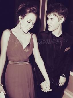 Jiley = Justin Bieber y Miley Cyrus