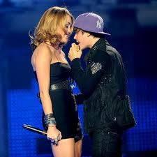 Justin Bieber y Miley Cyrus