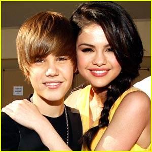 Justin Con Selena