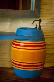 Lavamanos en el Palafito El Arbol - Sink at El Arbol