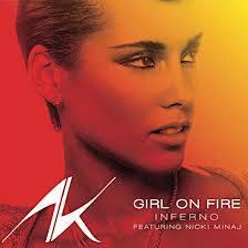GIRL ON FIRE-ALICIA KEYS FT. NICKI MINAJ
