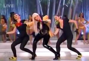 Just Dance en el Miss Universo 2008