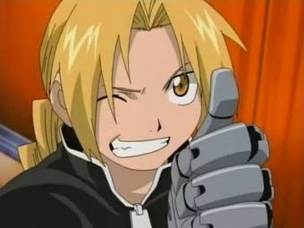 Edward Elric(Full Metal Alchemist)
