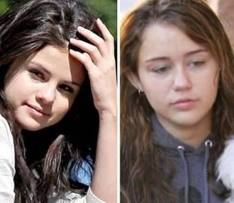 Porque las dos son bellísimas sin maquillaje