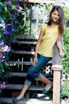 Zendaya con 10 años