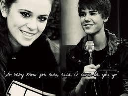 Caitlin Beadles & Justin Bieber