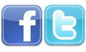 No puedo decidir facebook y twitter