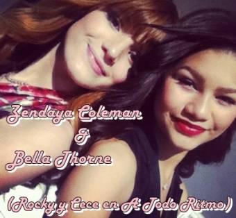 Zendaya Coleman & Bella Thorne (Rocky y Cece en A Todo Ritmo)