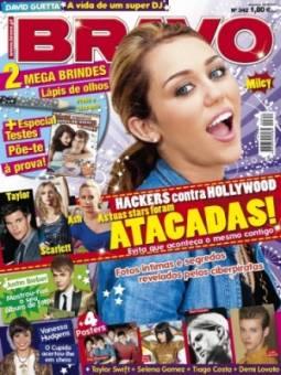 Miley Cyrus En Revista.
