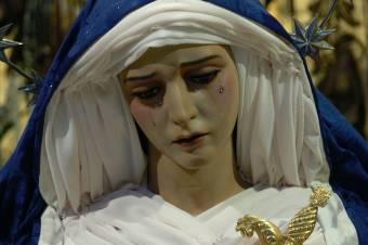 virgen de los dolores de rociana (huelva)