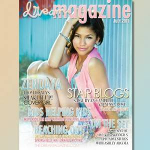 zendaya sale hermosa en revista